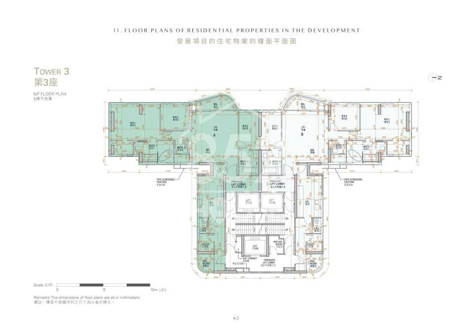 第3座5樓平面圖