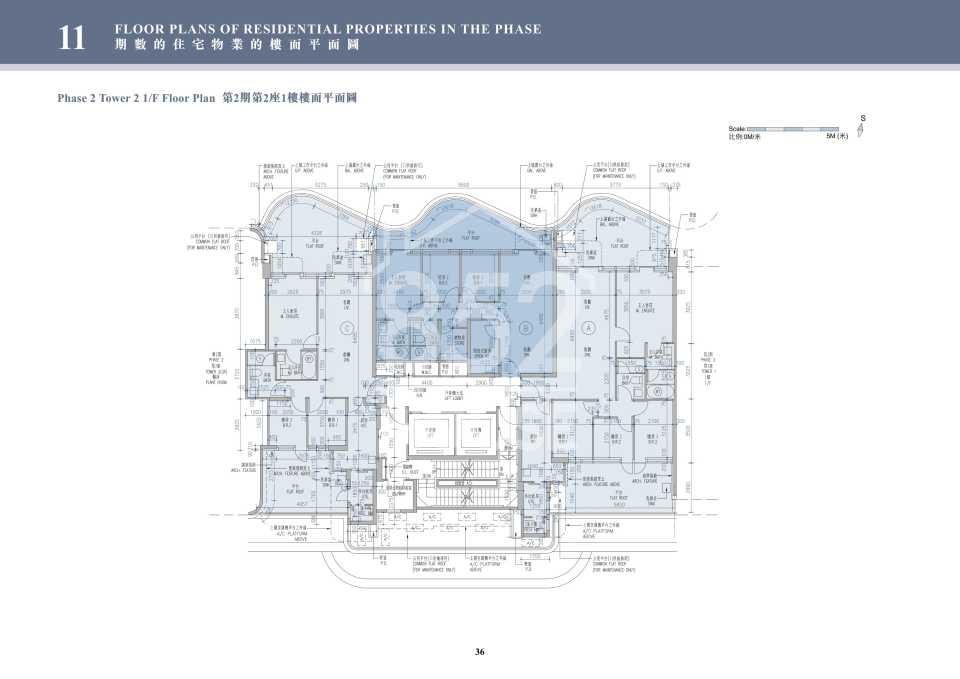 2期2座1樓平面圖