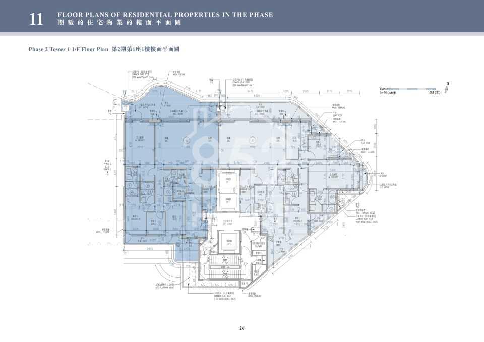 2期1座1樓平面圖