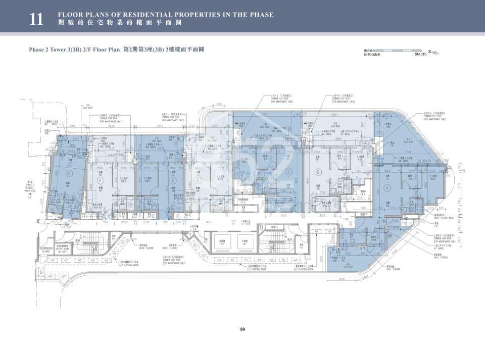 2期3B座2樓平面圖