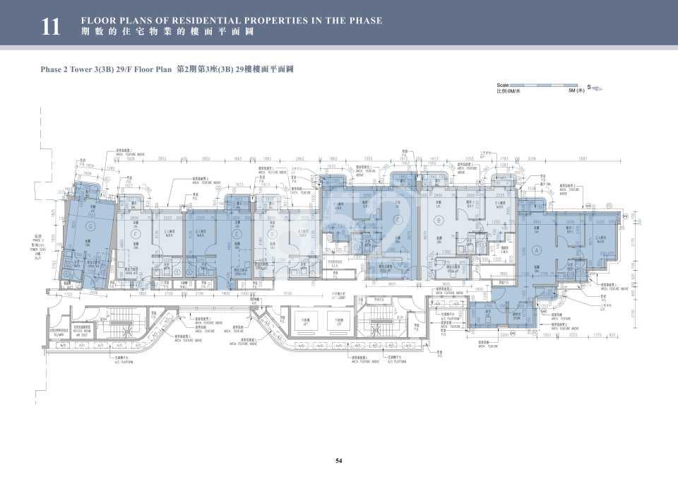2期3B座29樓平面圖