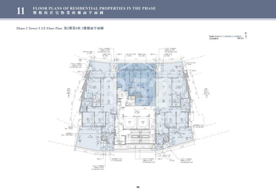 2期5座2樓平面圖