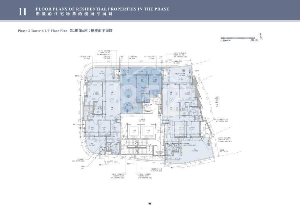 2期6座2樓平面圖