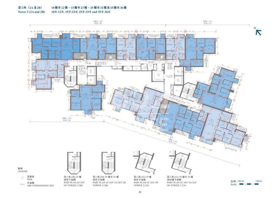 平面圖_2座10-36樓
