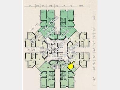 [藍田] 麗港城 兩房兩廳 近藍田站 特平招租